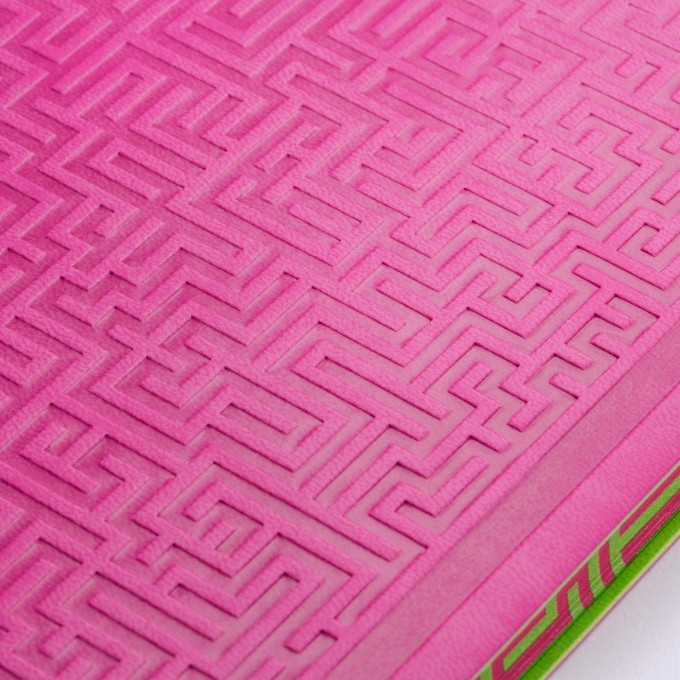 Signature Amazer Lined Notebook – A5, Pink