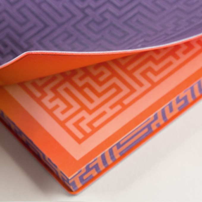 Signature Amazer Lined Notebook – A5, Purple