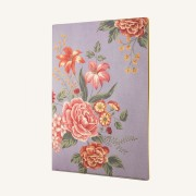 Flower Wow A4 Folder – Mauve