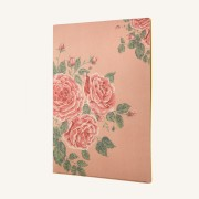 Flower Wow A4 Folder – Tea Rose