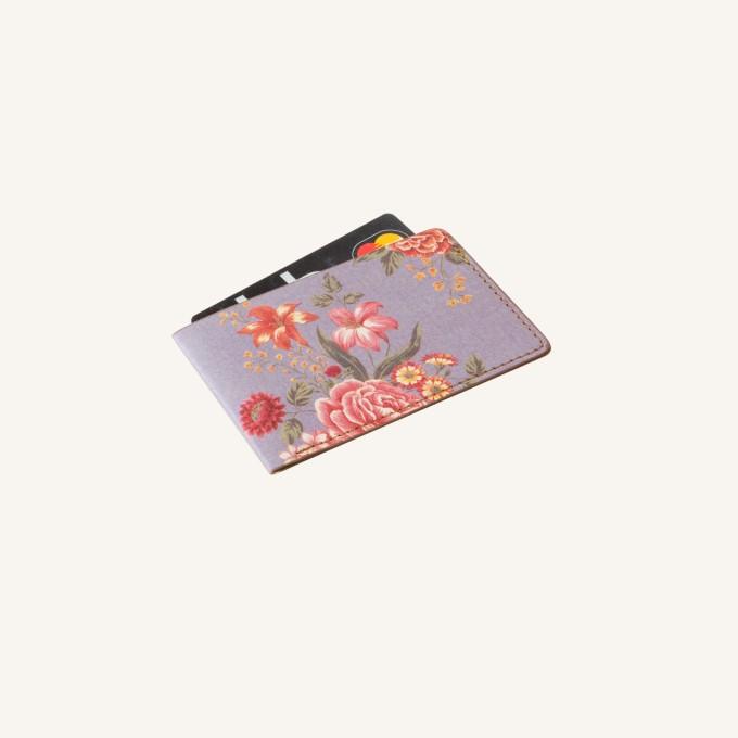 花花世界卡套 – 淡紫色