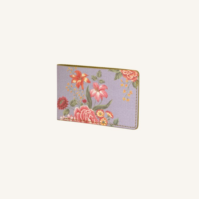 Flower Wow Card Pocket – Mauve