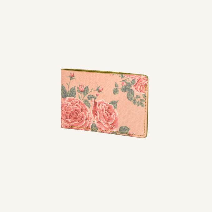 花花世界卡套 – 玫瑰茶色