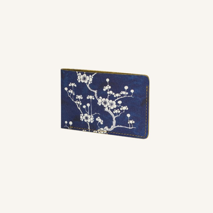 Flower Wow Card Pocket – Ceramic Blue