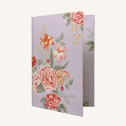 Flower Wow Envelope Folder – Mauve
