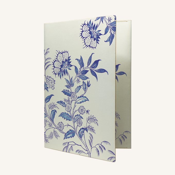 Flower Wow Envelope Folder – Ceramic White