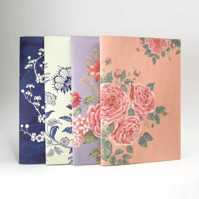 Flower Wow Envelope Folder – Ceramic Blue