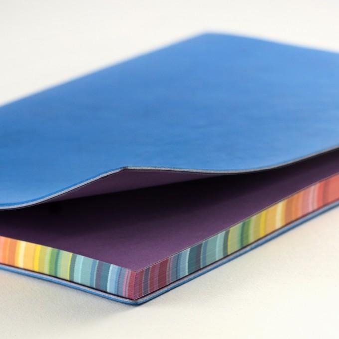 2020 旗艦色彩系列日記 – A5, 藍色, 英文版