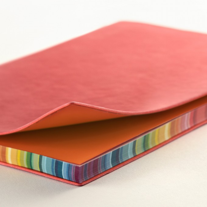 2020 Signature Chromatic Diary – A5, Red, English version