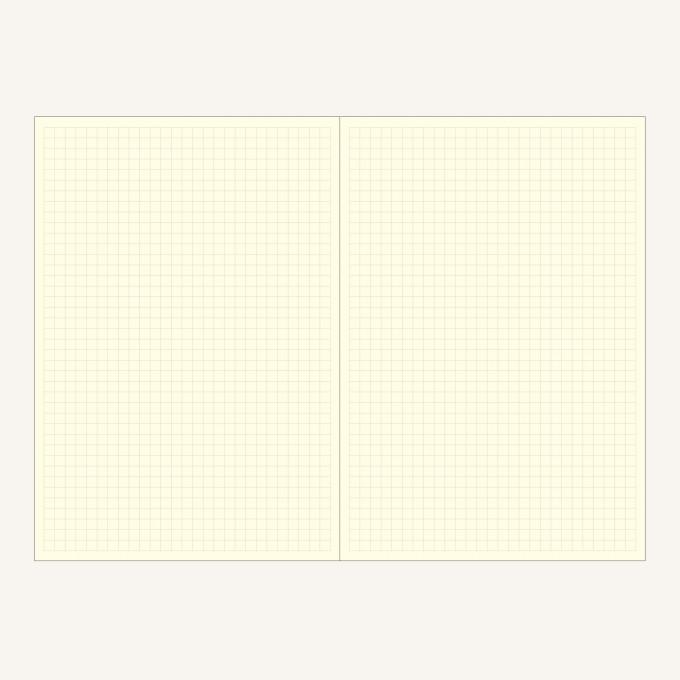 Signature Grid Notebook – A5, Grey