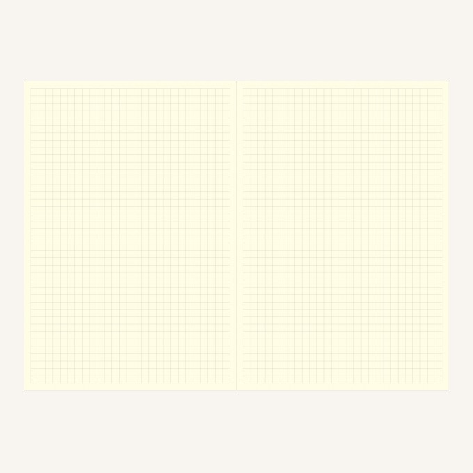 Signature Grid Notebook – A5, Brown