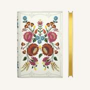 Flower Wow Lined Notebook – A5, Kalocsa Marigolds