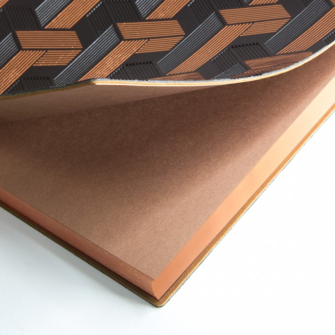 旗艦裝飾風系列點格本 -A5, 織井