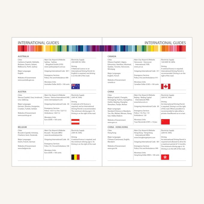 2021 Signature Chromatic Diary – A5, Yellow, English version