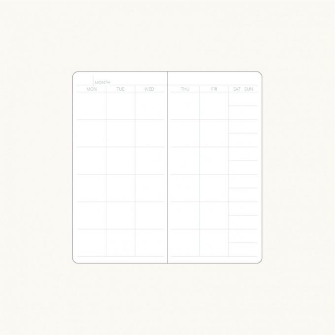 Handy pick Monthly Planner – Large