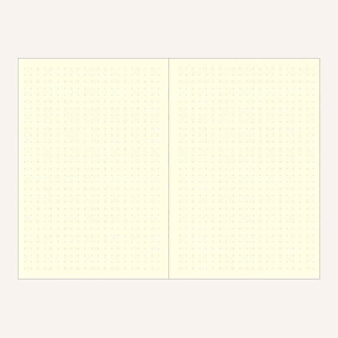 旗舰二重奏系列横线/点格本 - A5, 红/酒红色