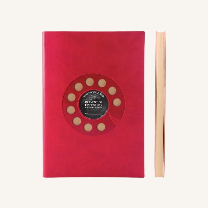 旗舰怀旧系列纯白本 - A5, 转盘电话
