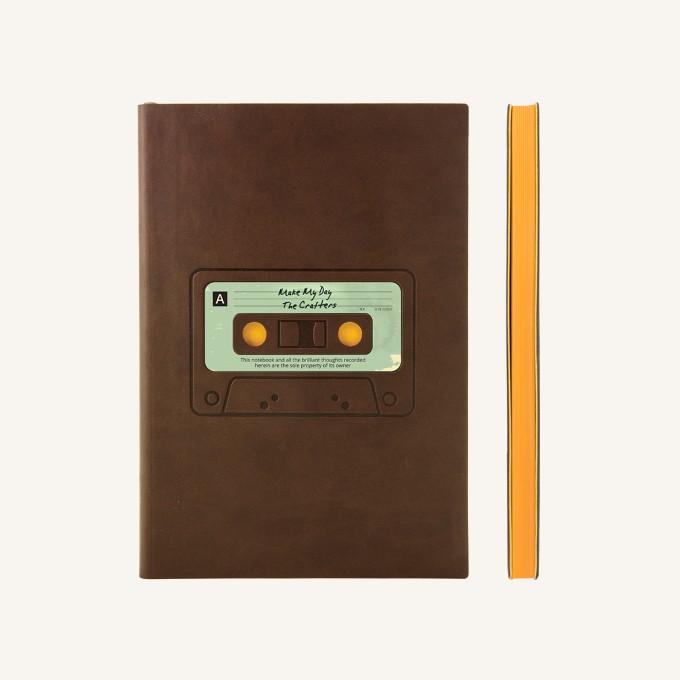 旗舰怀旧系列纯白本 - A5, 卡式录音带