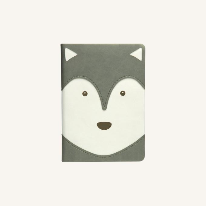 2020 动物趣脸系列日记 - A6, 哈斯基犬