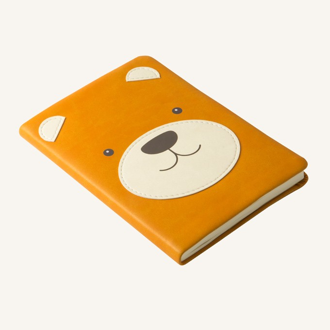 2020 动物趣脸系列日记 - A6, 小熊