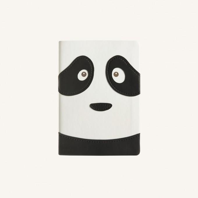 2020 动物趣脸系列日记 - A6, 熊猫