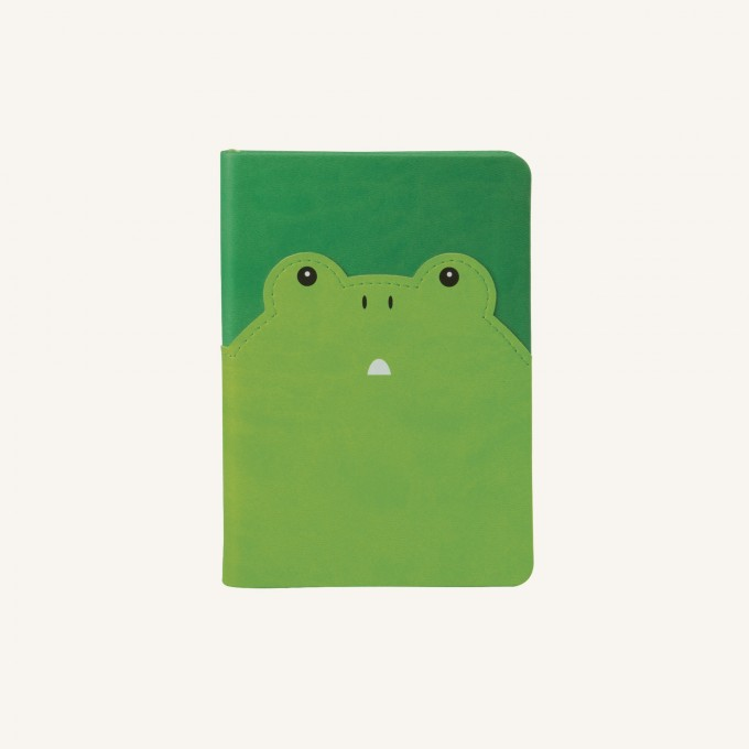 2020 动物趣脸系列日记 - A6, 青蛙