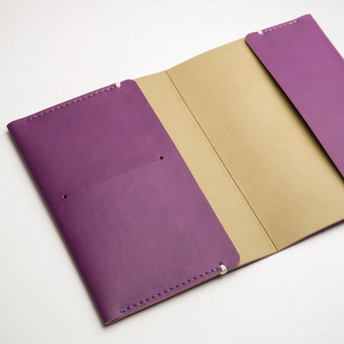 护照套 - 紫色
