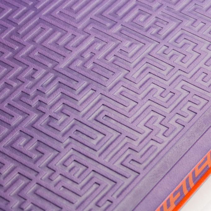 旗舰情谜系列横线本 - A5, 紫色