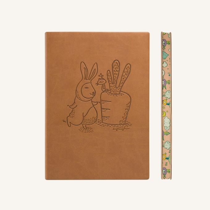 旗舰动物园地系列纯白本 - A5, 兔