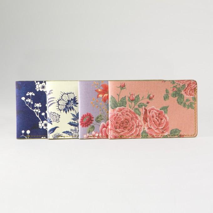 花花世界卡套 - 玫瑰茶色