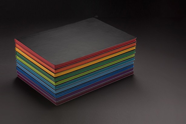 Signature Spectrum Lined Notebook Gift Set