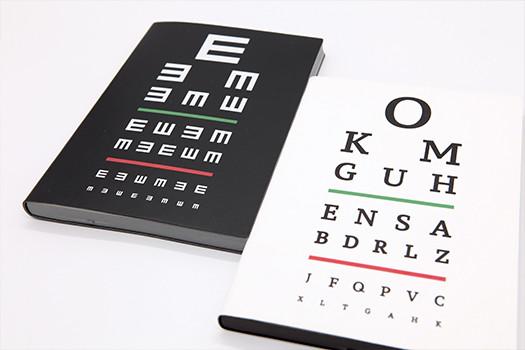 Signature Eye Chart